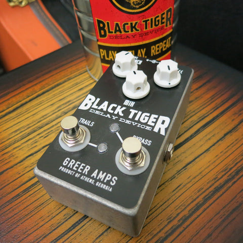 Used Greer Amps Black Tiger Delay Pedal