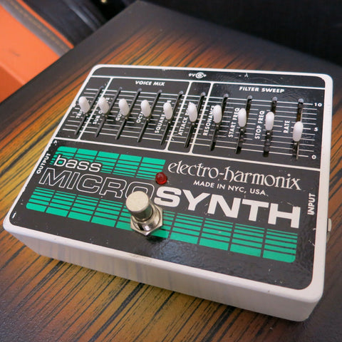 Used Electro Harmonix Bass Micro Synth Pedal