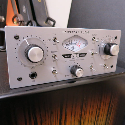 Used Universal Audio UA 710 Twin-Finity Microphone Preamp
