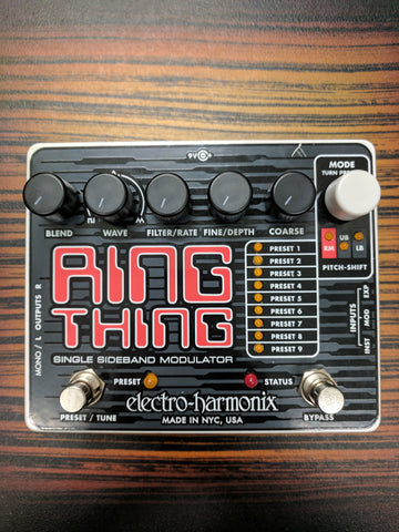 Used Electro-Harmonix Ring Thing Modulator Pedal