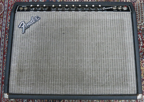 Used Fender Concert 1x12 combo amp UFENF214353