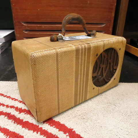 Used 1930s Oahu Lap Steel Amplifier