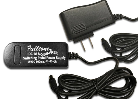 Fulltone IPS-18 18 Volt Worldwide Power Adapter