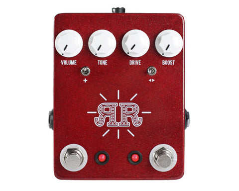 JHS Ruby Red Butch Walker Signature Overdrive Pedal