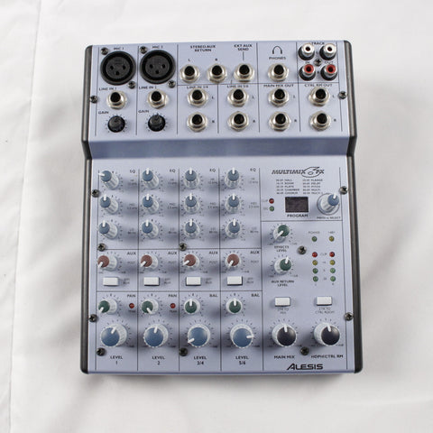 Used Alesis Multimix 6 FX Mixer