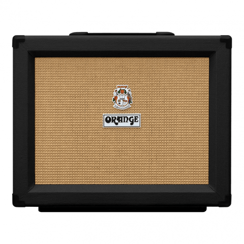 "Orange PPC112 1x12"" Black Speaker Cabinet"
