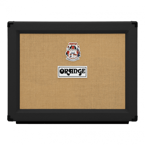 "Orange PPC212OB Open Back Black 2x12"" Speaker Cabinet"