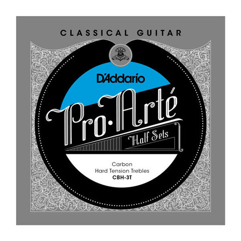D'Addario Pro-Art?? Carbon Treble Half Sets