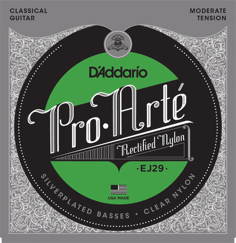 D'Addario EJ29 Pro-Art?? Rectified Trebles Moderate
