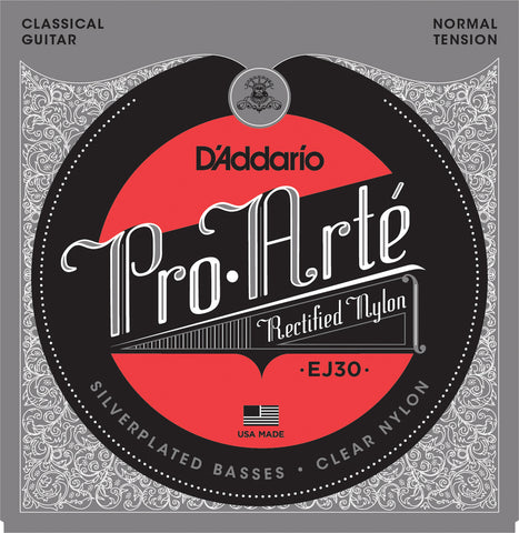 D'Addario EJ30 Pro-Art?? Rectified Trebles Normal Tension