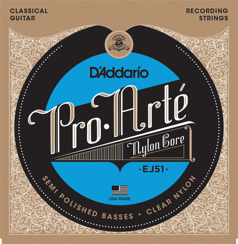 D'Addario EJ51 Pro-Art?? with Polished Basses Hard