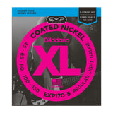 D'Addario EXP170-5 Coated Nickel Wound 5-String Bass Light 45-130 Long Scale
