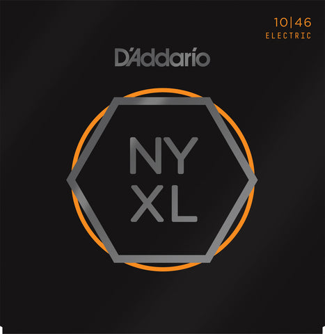 D'Addario NYXL1046 Nickel Wound Regular Light 10-46