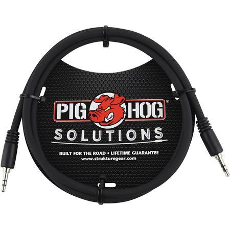Pig Hog  6ft 3.5mm TRS to 3.5mm TRS Cable PXT3506