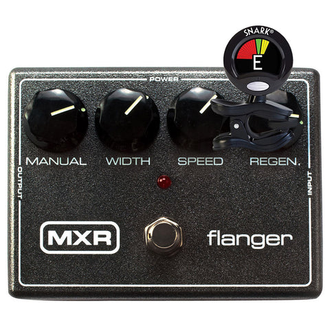 MXR M117R Flanger with FREE Snark Tuner