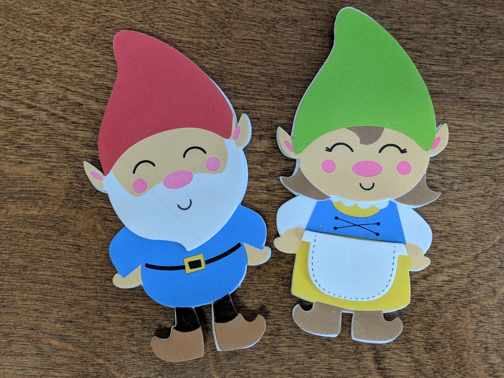 gnome magnet craft
