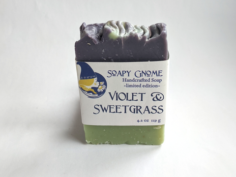Seasonal: Violet Sweetgrass Buttermilk Soap