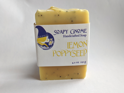 Lemon Poppyseed Buttermilk Soap