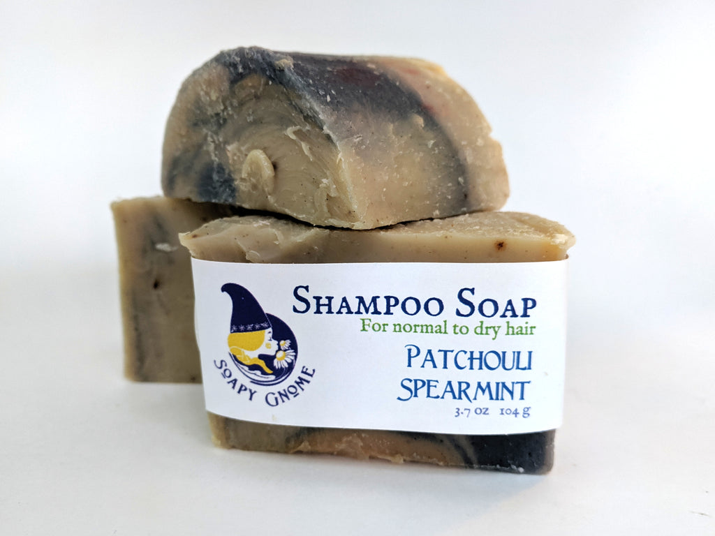 Patchouli Spearmint Shampoo Soap