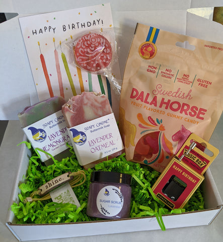 Cozy Crate: Five Senses Birthday