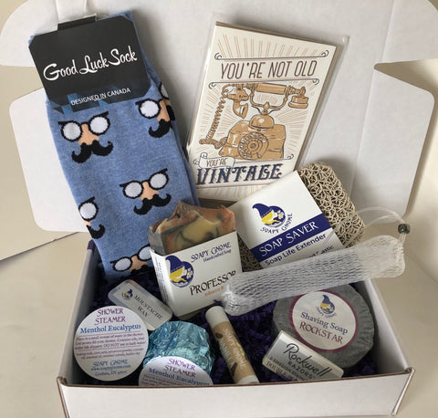 Cozy Crate: Dude Friendly Thinking of You or Birthday Package