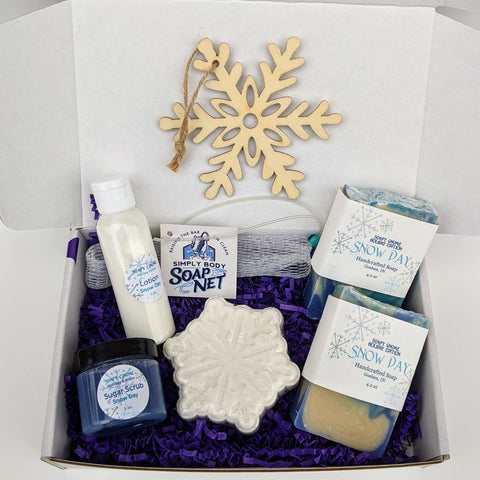 Snow Day Christmas Gift Box