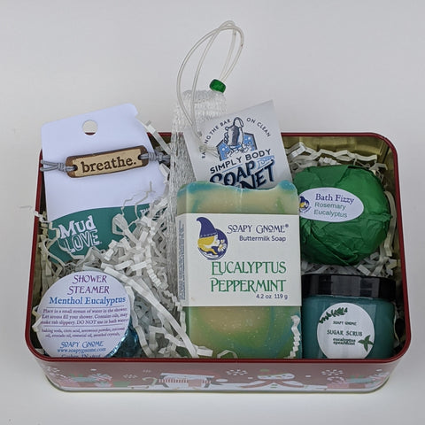 Eucalyptus Holiday Gift Box