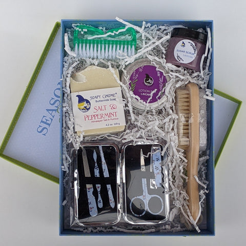 Foot Pampering Holiday Gift Box