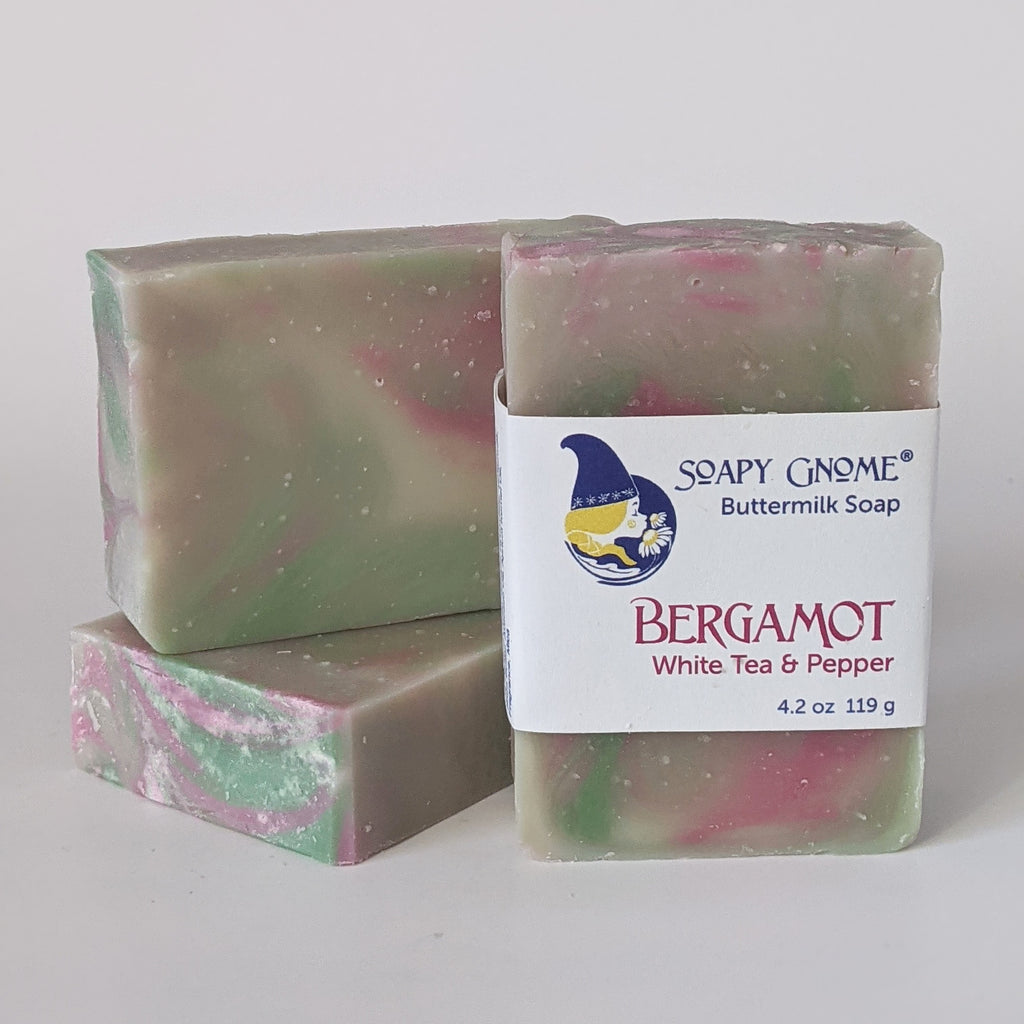 Bergamot, White Tea and Pepper Soap