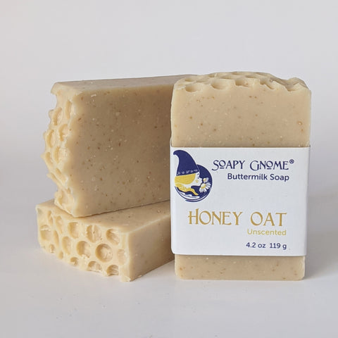 Honey Oat Unscented Soap