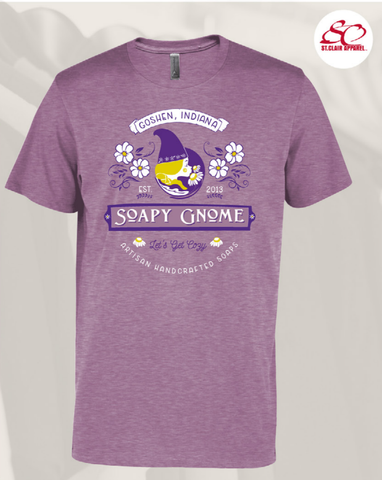 Preorder Soapy Gnome Purple T-Shirt