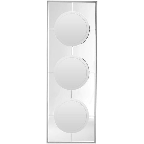 3 Circle Geometric Wall Mirror 154cm-Mirrors-Retail Therapy Interiors