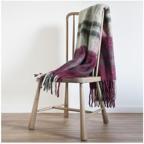Ambleside Mohair Feel Throw-Soft Furnishings-Retail Therapy Interiors