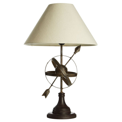 Armillary Table Lamp-Lighting-Retail Therapy Interiors