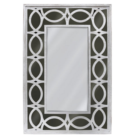 Aspen Washed Ash Wall Mirror Black 120cms-Mirrors-Retail Therapy Interiors