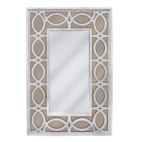 Aspen Washed Ash Wall Mirror Champagne 120cms-Mirrors-Retail Therapy Interiors