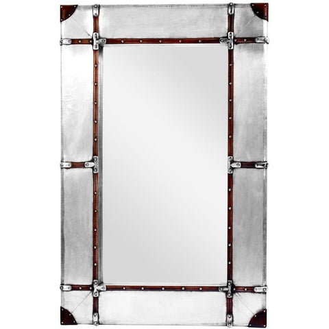 Aviator Industrial Wall Mirror 123cm-Mirrors-Retail Therapy Interiors