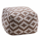Aztec Pouffe-Soft Furnishings-Retail Therapy Interiors