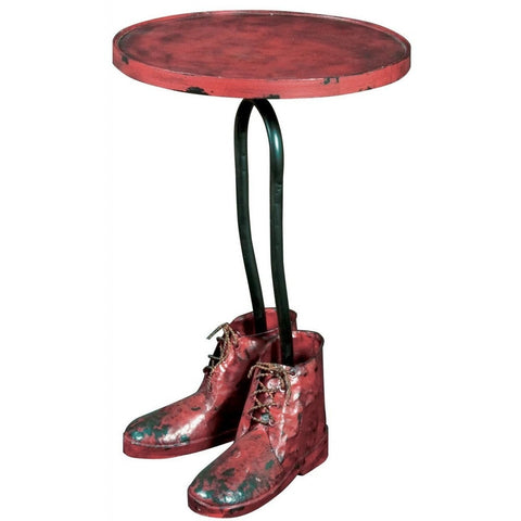 Best Foot Forward Side Table 61cms-Furniture-Retail Therapy Interiors
