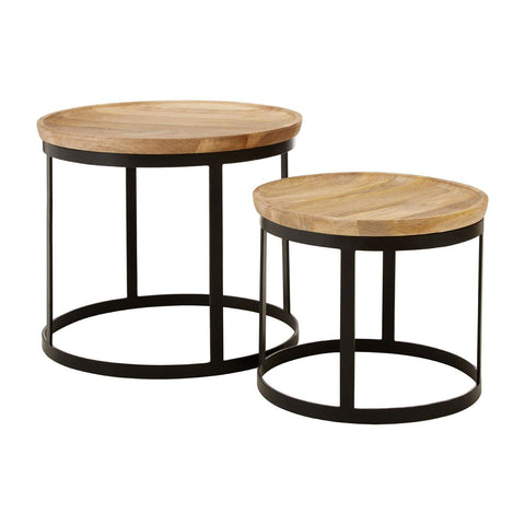 Boho Nesting Tables-Furniture-Retail Therapy Interiors