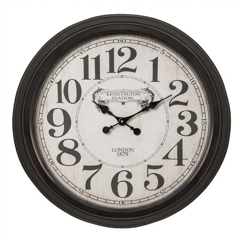 Bold Kensington Wall Clock-Clocks-Retail Therapy Interiors
