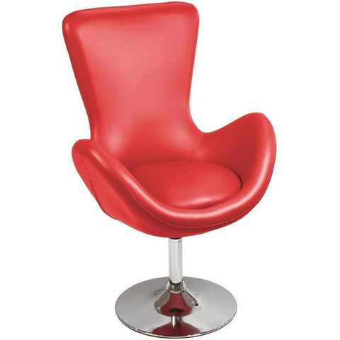 Bucket Racing Chair Red-Furniture-Retail Therapy Interiors