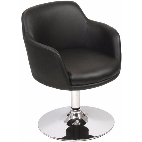 Bucketeer Swivel Chair Black-Furniture-Retail Therapy Interiors