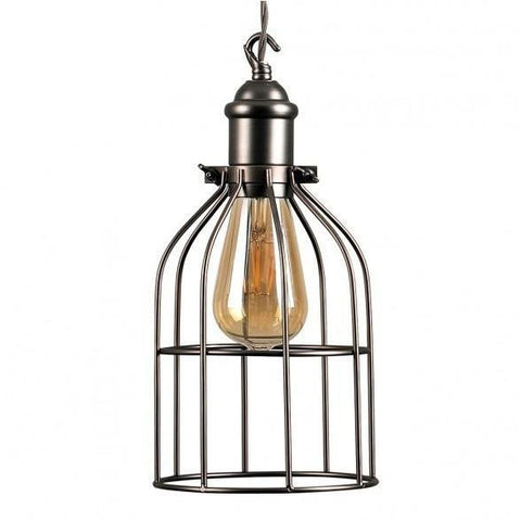 Caged Basket Pendant Shade-Lighting-Retail Therapy Interiors
