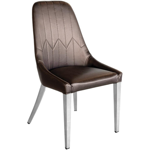 Camberley Dining Chair Brown-Furniture-Retail Therapy Interiors