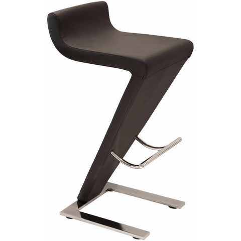 Carrello Bar Stool Black PU-Furniture-Retail Therapy Interiors