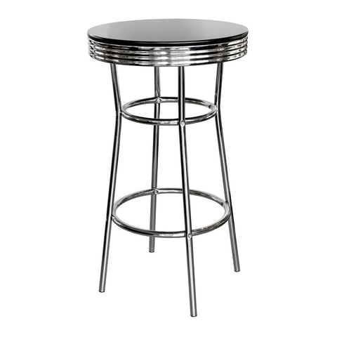 Chrome Bar Table-Furniture-Retail Therapy Interiors