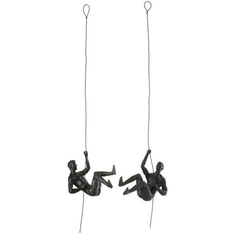 Climbing Man Wall Decoration-Accessories-Retail Therapy Interiors