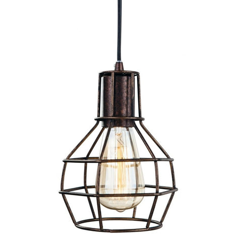 Clipper Cage Pendant-Lighting-Retail Therapy Interiors