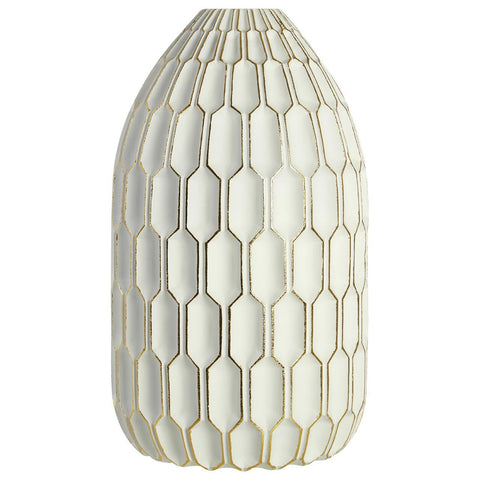 Complements Large White Vase-Accessories-Retail Therapy Interiors